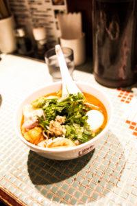 近藤代表がボクのために選んでくれたスープ春雨(^^)/ 美味しくてヘルシー。大阪にも出来て欲しいなぁ。